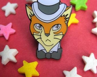 "The Baron, ""Cat returns"", Studio Ghibli Enamel Pin"