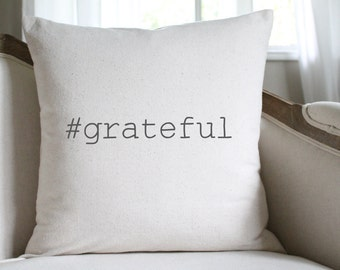 Grateful Pillow Etsy