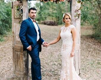Wedding Arch Swag, Extra Large Wedding Swag, Wedding Garland, Church Swag, Rustic Wedding Swag, Arbor Swag, Church Wedding Swag