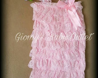 Pink Baby Romper set 6 to 9 month