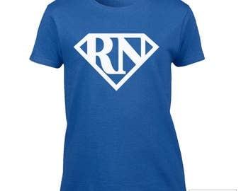 Registered Nurse Shirt / RN t-shirt / RN Gift Idea / Super hero RN shirt / 253