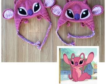 Lilo and Stitch Angel Hat - Angel Hat - Stitch - Beanie