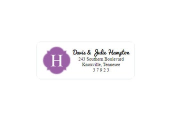 Return Address Labels - Custom - Personalized - Return Address Stickers