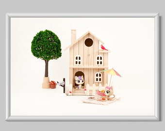 Toy Photography Print, Home Decor, Kids Room Decor Print, Nursery Room Decor Print, Toy Decor Print, Picnic Print