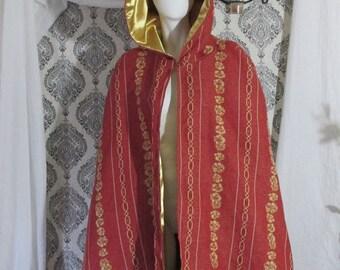 Red and Gold Decorative Cloak