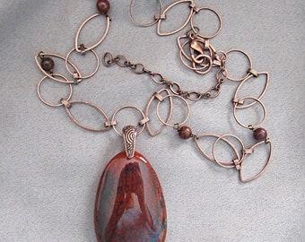 Red-Brown Agate/Copper