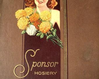 1940s Nylon Stockings Box