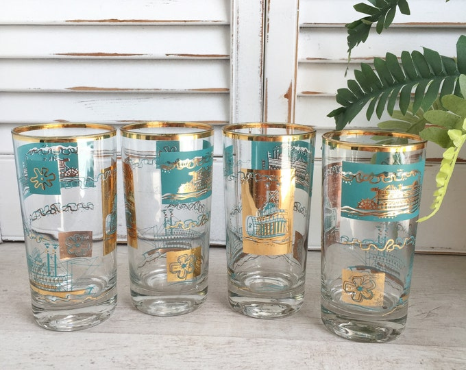 Southern Comfort Glasses by Libbey