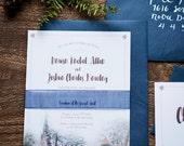 Notre Dame Wedding Invitations