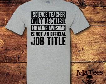 Science, Science Gift, Science Teacher, Science Teacher Gift, Teacher Gifts, Teacher Shirts, Teacher, Gifts For Teachers, T-Shirt, Shirt