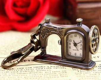 Steampunk watches, sewing machine watch, sewing machines, vintage watches, vintage gifts, Mothers Day gifts, watches, Elephants, fun gifts