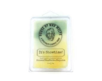 It's Showtime -Beetlejuice Inspired - Lemon Lime Soda Scented Wax Melts - 3 oz. - Soy