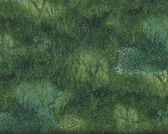 Timeless Treasures Quilting Cotton Fabric Trees 126599 - 1/2 Yard