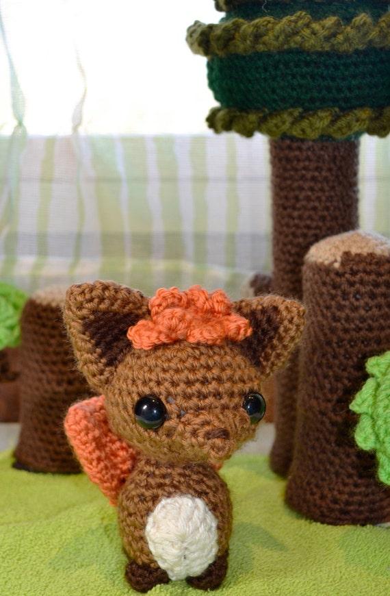 Amigurumi Vulpix Pattern : Vulpix Pokemon Crochet Patterns Images Pokemon Images