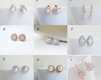 Rose Gold / Silver / Gold - Earrings