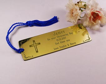 First Communion Gift,Personalised First Communion Bookmark,Custom Engraved First Communion Present,First Communion Keepsake,Custom Bookmark