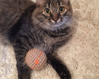 catnip toy for cat gift for kitten toys pet gift for cat lover play ball jute crochet ball catnip cat toys pet supplies toy pet cat toy hemp