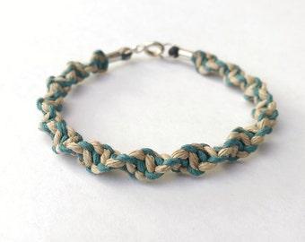 Minimalist Bracelet - Everyday Bracelet, Travel Bracelet, Vacation Gifts, Hemp Bracelet, Trendy Bracelet, Minimalist Jewelry, Trendy Jewelry