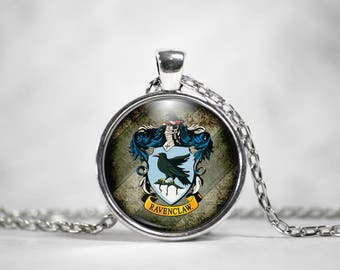 Ravenclaw, 25mm Pendant, Harry Potter Jewelry, Harry Potter Necklace, Hogwarts Houses