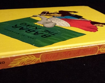 Grimm's Fairy Tales/Babar the King - Read Me a Story Program, Vintage 1950/1960