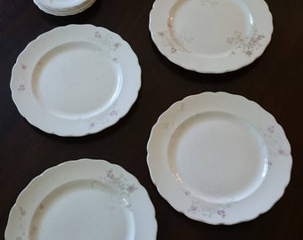 Homer Laughlin Shabby Chic China/ 1930s floral china/ Country China/ Cottage Chic/ Country Wedding