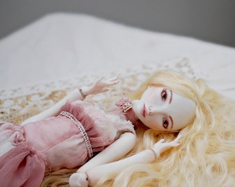 Porcelain bjd Cute doll Collectible doll Luxury gift Rustic Ball jointed doll Porcelain doll OOAK bjddoll Art bjd Unique gift Beautiful gift