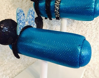 Blue Glitter- Different Base Colors Available