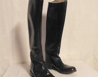 Swiss made Veltheim riding boots--women's size 5.5 A slim