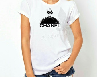 Women's Chanel Inspired Shirt - Chanel Sunglasses Silhouette Shirt