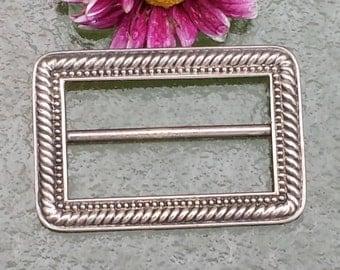 Vintage Sterling Belt Buckle