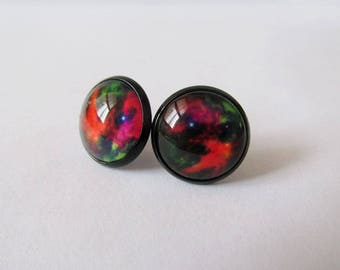 Galaxy Earrings – Red Series
