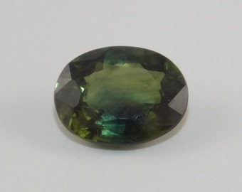 Natural 1.42 ct Green sapphire