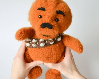 Crochet PATTERN No 1711 Winnie the Chew by Krawka