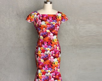 floral Lily ress