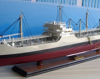 SS Bushy Run (T2-SE-A1) Tanker Model