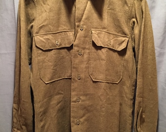 WW2 U.S Army Wool Field Shirt