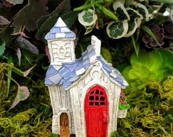 Miniature Fairy Chicken Coop Egg Shop