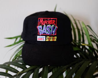 Vintage Monster Bash hat - Doritos - Pepsi - Adult, one size fits all