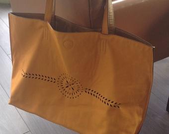Beach bag, beach bag, school bag, Tote, yellow sunflower, yellow, sunflower