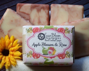 Apple Blossom & Rose Soap