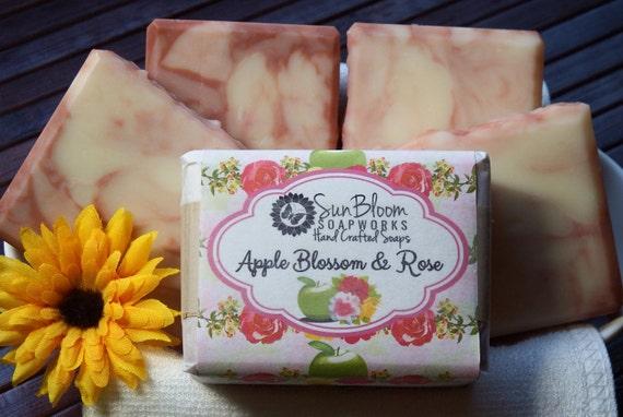 Apple Blossom & Rose Soap