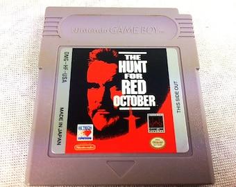 The Hunt for Red October Nintendo Gameboy - Gameboy