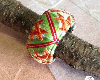 Yubinuki / Japanese thimble ring Yubinuki / silk jewelry / Thimble