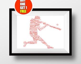 Baseball artwork,  Baseball  present, Baseball , Baseball  print, Baseball  art