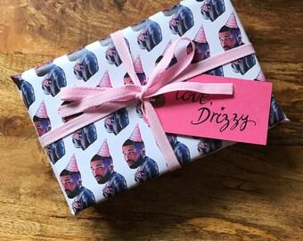 Drake Wrapping Paper