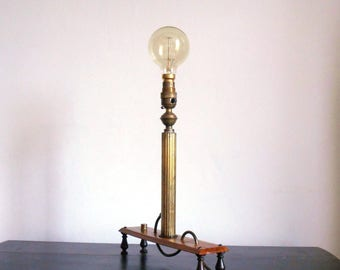 Upcycled Lamp on Legs