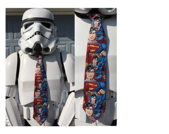 SPECIAL ORDER 4 Superman Novelty Neckties & FedEx Shipping