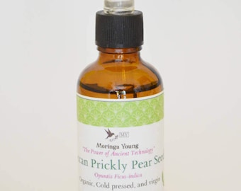 100% Pure ORGANIC Moroccan Prickly Pear Seed Oil
