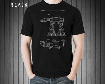 Star Wars AT-AT Walker, Patent T Shirt, Star Wars Shirt, Starwars Shirt, Star Wars Gifts