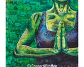 Stay Centered (8 x 8) Con...